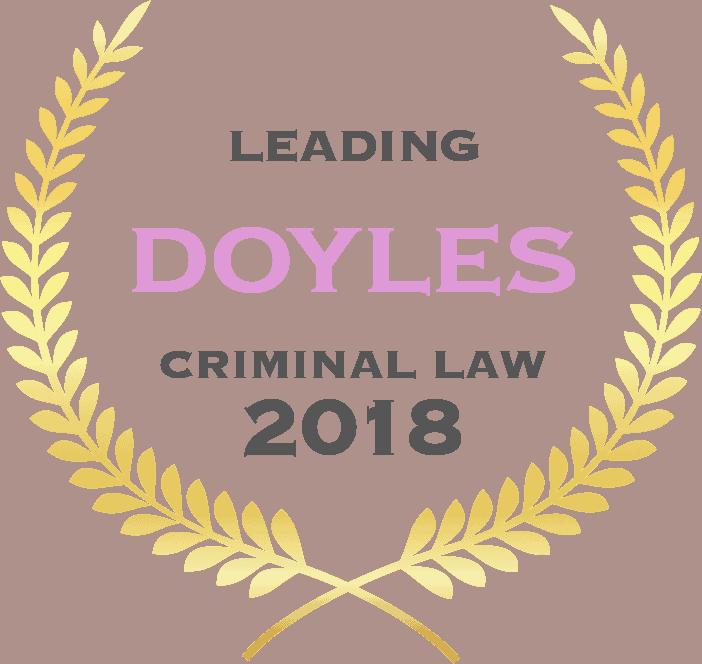 Doyles Criminal Law 2018