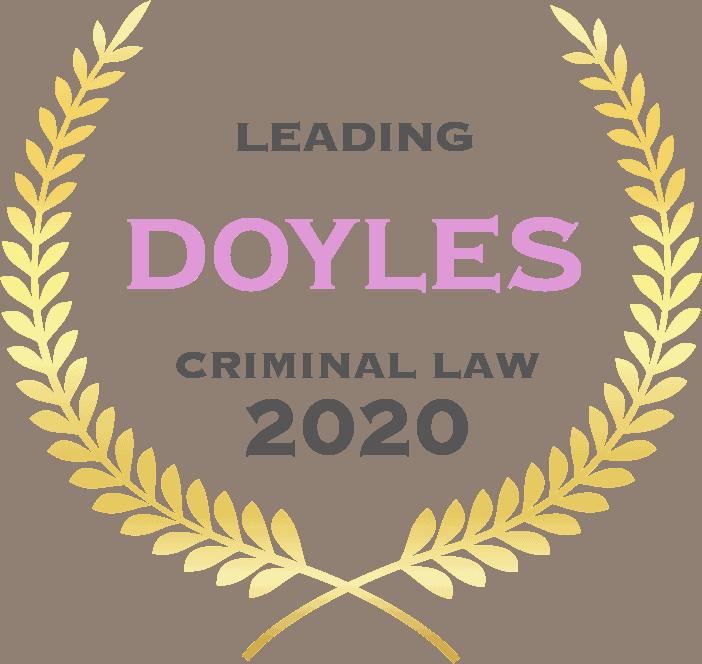Doyles Criminal Law 2020
