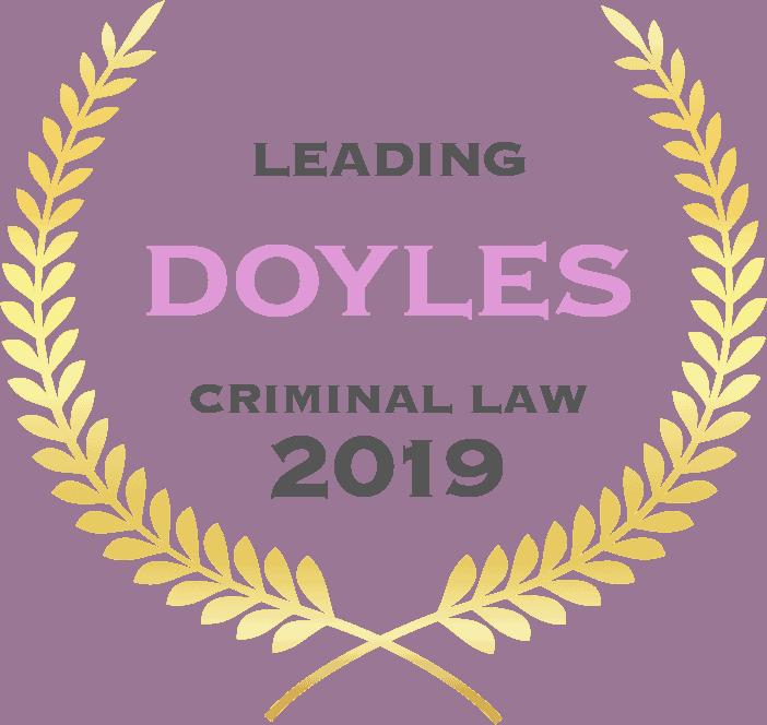 Doyles Criminal Law 2019