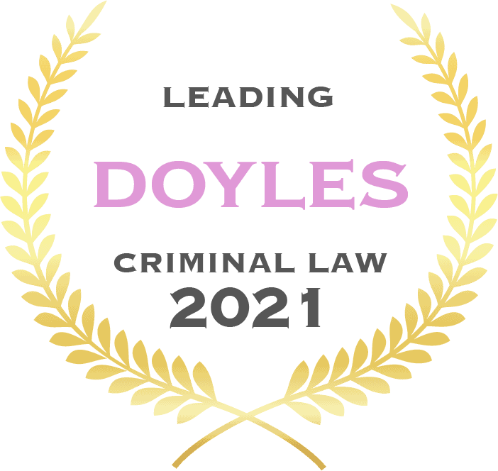 Doyles Criminal Law 2021